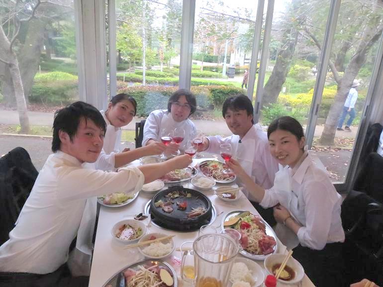 アップル薬局 内定者懇親会01